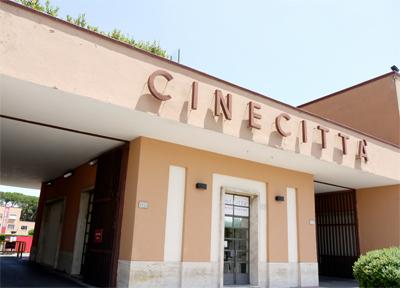 Cincitta' Studios Enterance